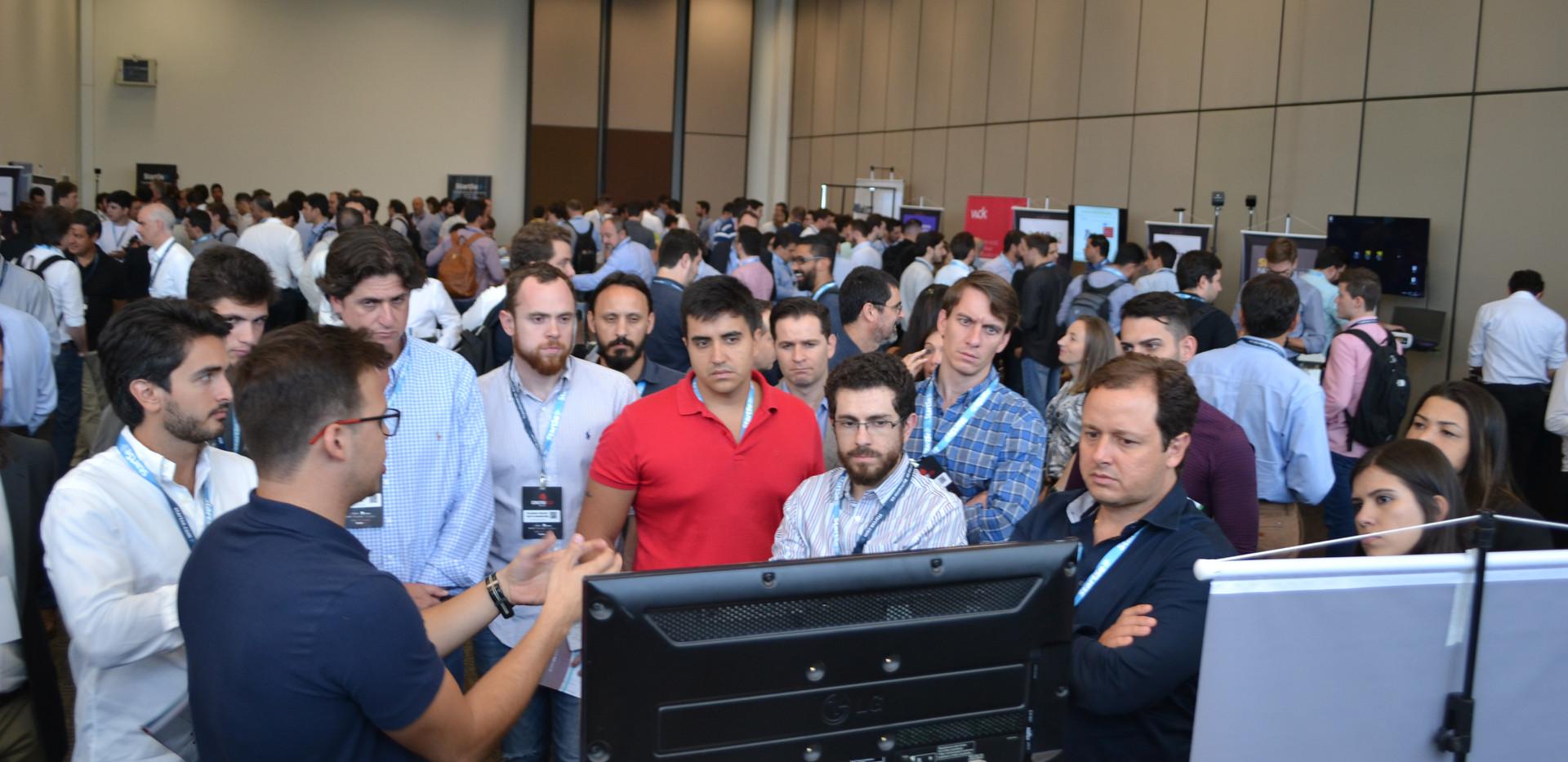 Lançamento do InfoOBRA no Construtech Conference, São Paulo, 2018