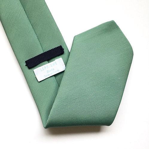 Cravate vert eucalyptus