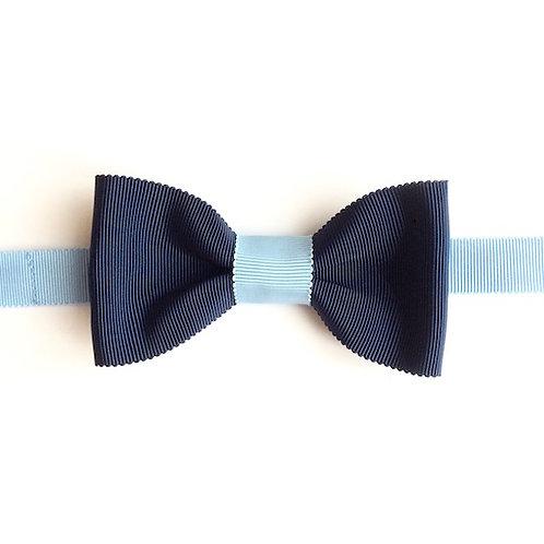 noeud papillon chic et original bleu marine