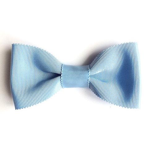 noeud papillon bleu ciel pour femme broche