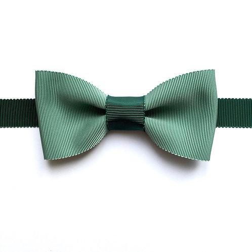 noeud papillon vert eucalyptus avec tour de cou ajustable