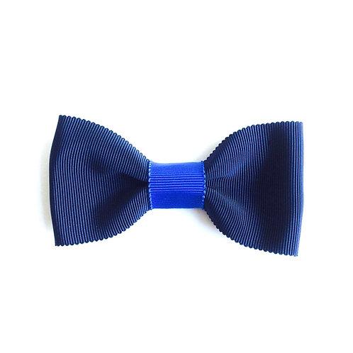 noeud papillon marine et bleu roi