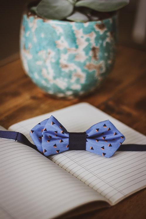 Noeud papillon bleu mariage