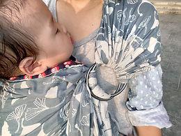 雙環揹巾-新生兒很適用