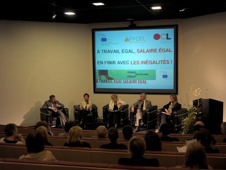 L'égalité salariale : problème principal de 12 pays européens