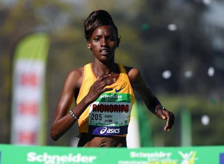 Purity Rionoripo la vedette du Marathon de Paris 2017