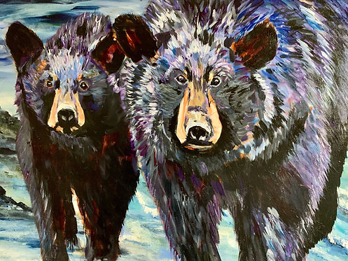 21 Bears by Doris Wilson