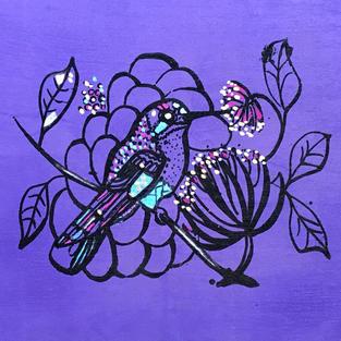 Nightingale purple