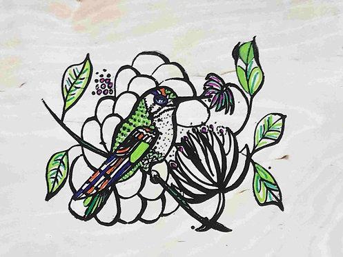 09 White Bird by Ann Zanbilowicz