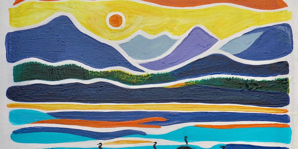 Mount Washington Raven Lodge Artsphere Art Show