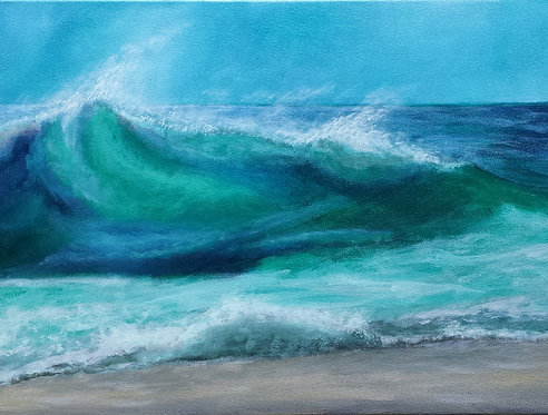 41 Waves by Coleen Purdey-Morrison