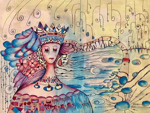 48 Goddess by Dorothy Walker