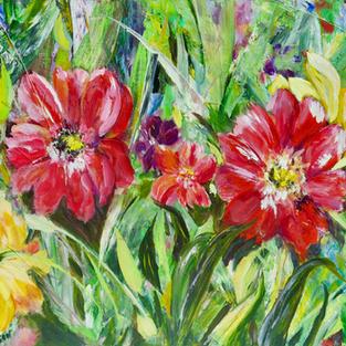 Summer Flowers Doris Wilson