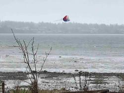 Kate Brown- Kite Surfing in Feb