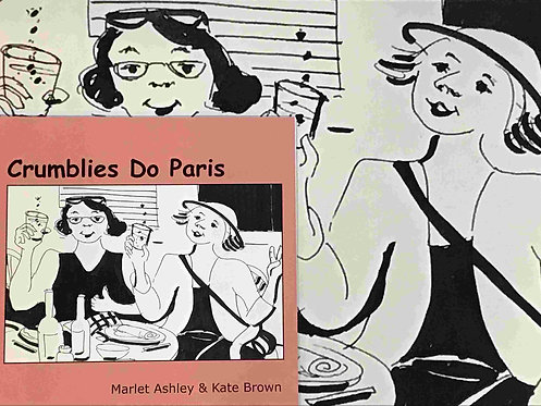 64 Crumblies do Paris +Book by Kate Brown and Marlet Ashley