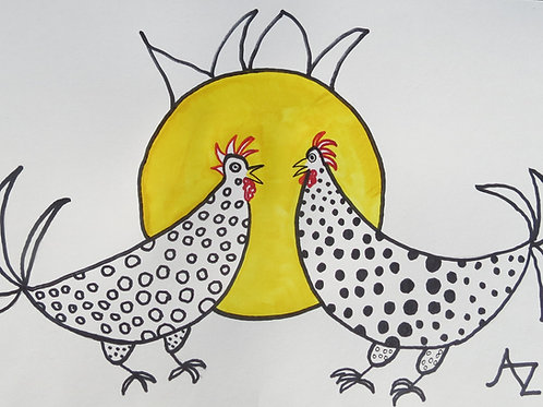 37 Two Chickens