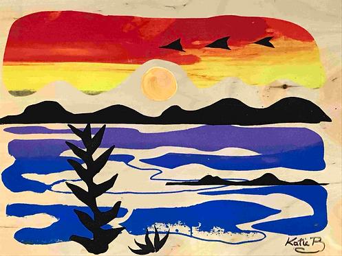68 Rainbow Sunrise
