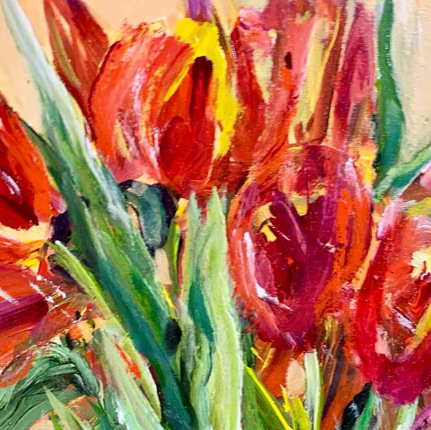 Tulips 15.5 x 12.5