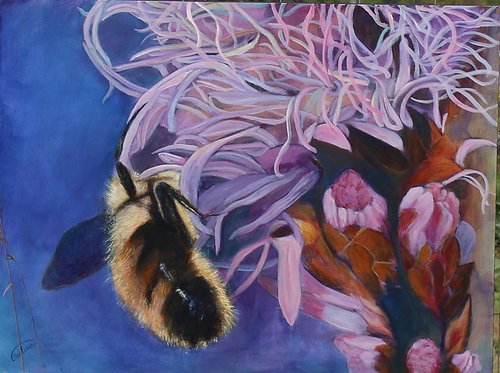 58 Bees by Christina Nilsson