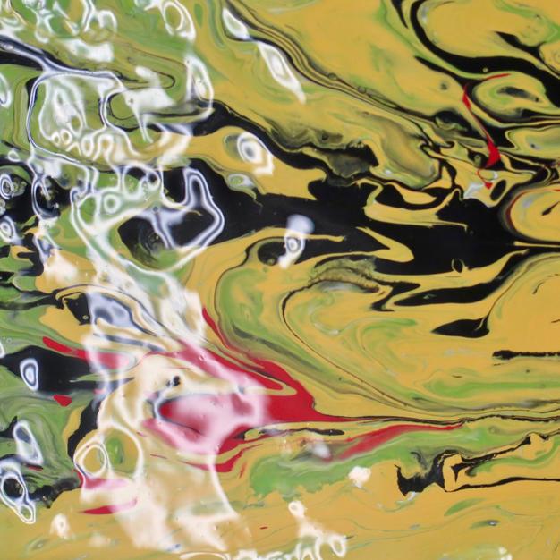 Pour Painting Doris Wilson