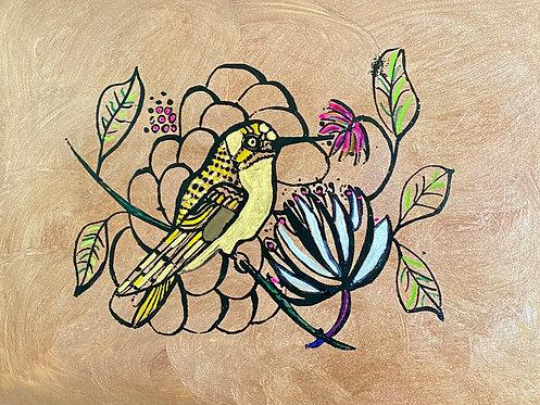 08 Bronze Bird by Ann Zanbilowicz