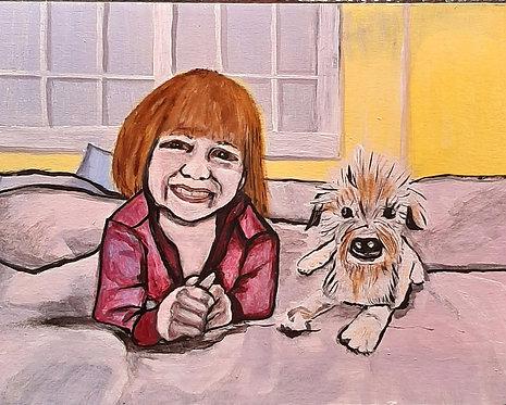 34 Pet Pouch by April Dyck