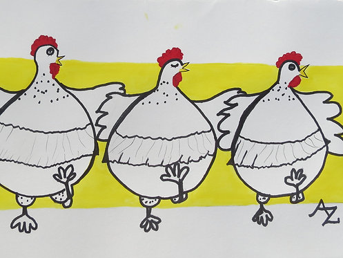 38 Cancan Chickens