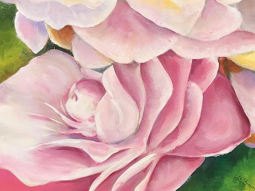 114 Spring Peonies by Kate Brown