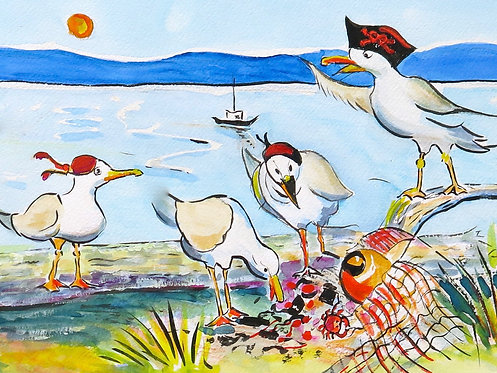 17 Gabby Gull by Kate Brown