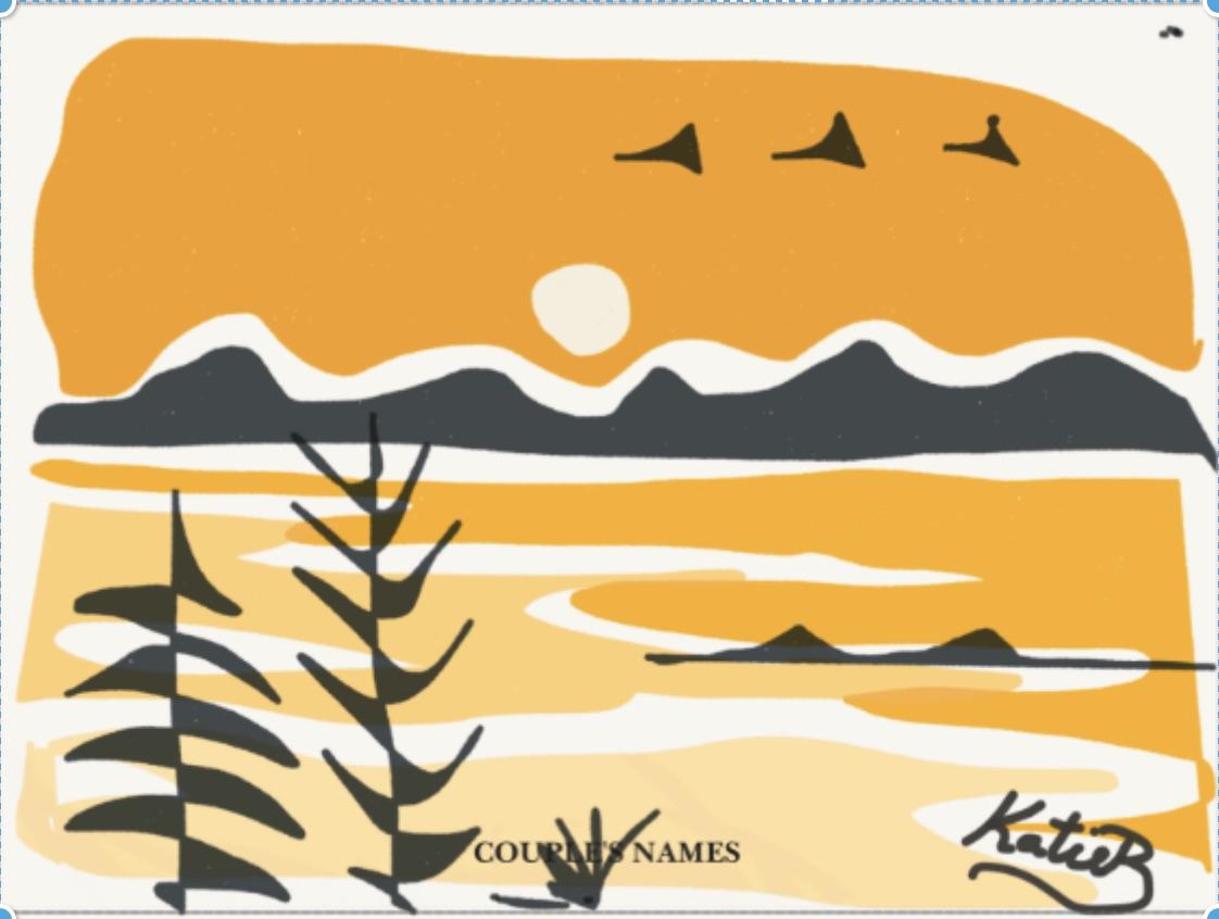 Kate Brown Sunrise over Comox