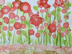 Daisies in Ink - Tina Manders