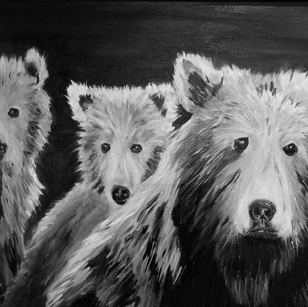 3 Bears print Doris Wilson