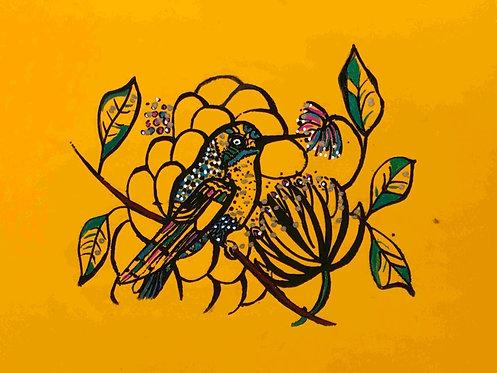 06 Yellow Bird  by Ann Zanbilowicz