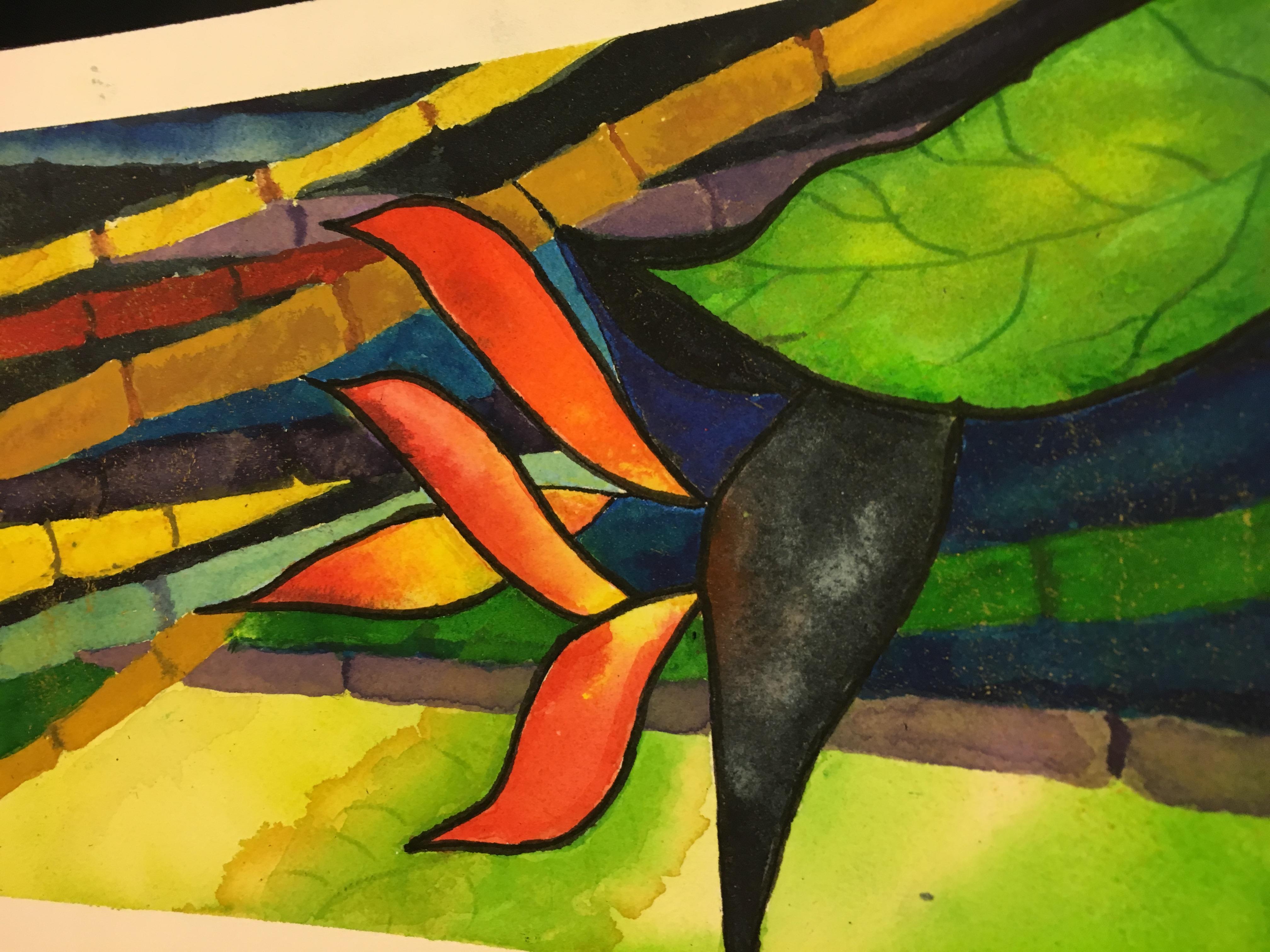 Ann Zanbilowicz - Bird paradise