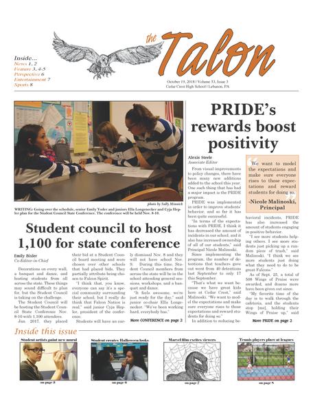 Talon Issue #3 [2018]