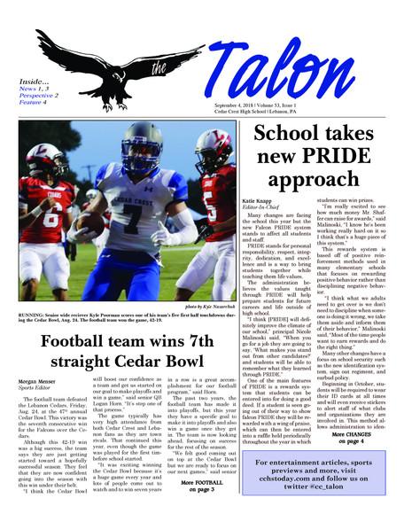 Talon Issue #1 [2018]