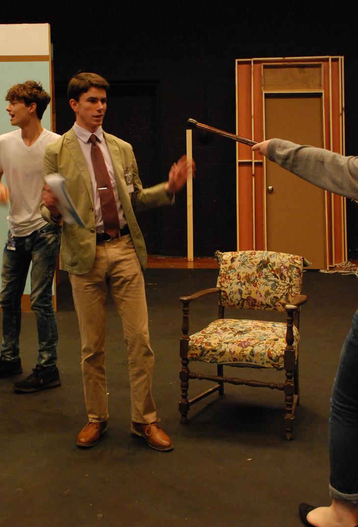 Senior steps into comedic role