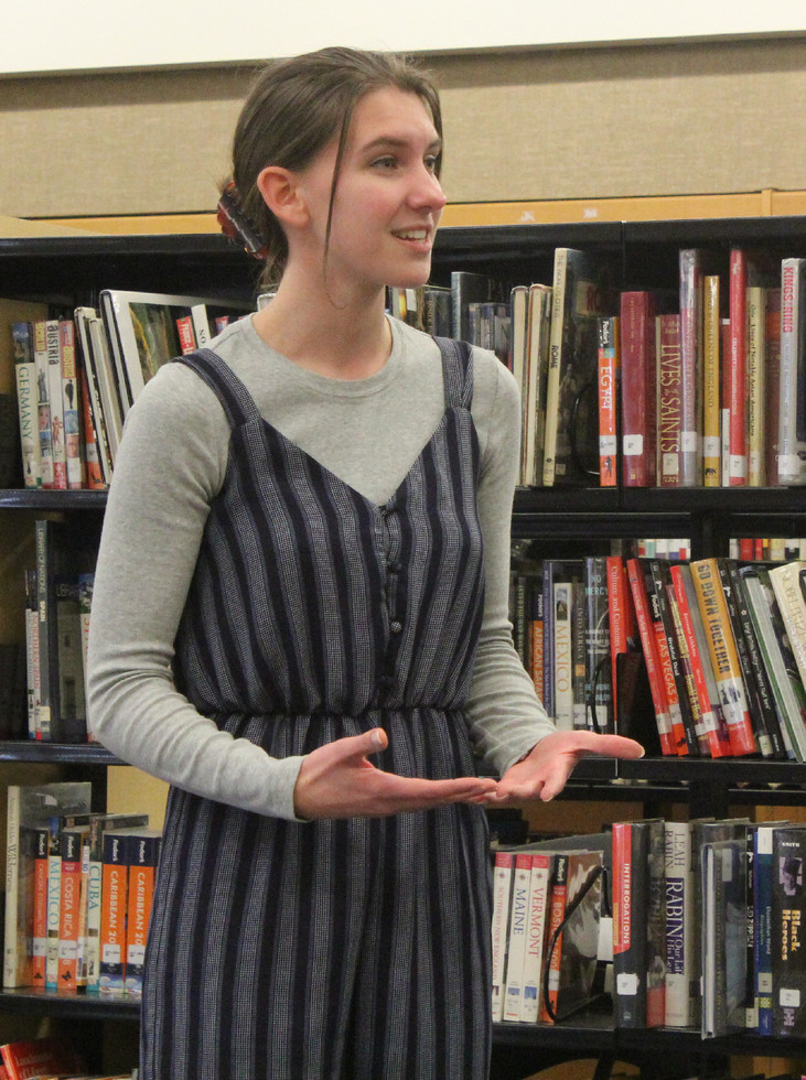 Senior moves on in Poetry Out Loud for third year
