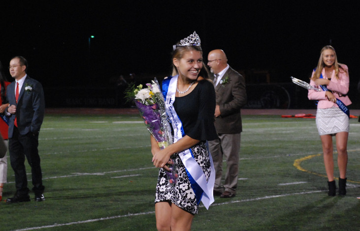 Homecoming queen earns crown