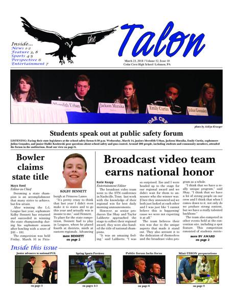 Talon Issue #10 [2018]
