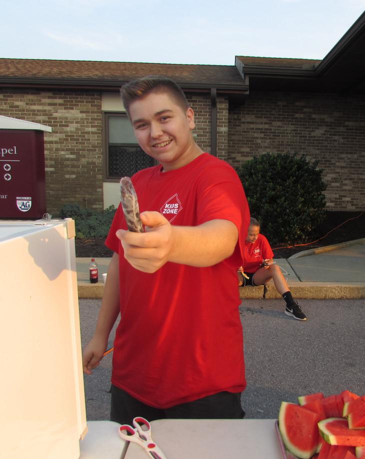 Students volunteer over summer break