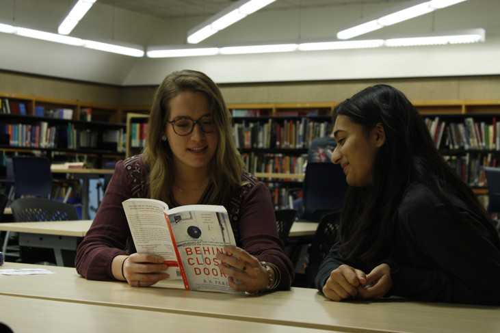 Seniors create new book club