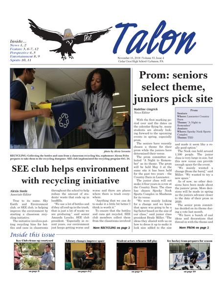 Talon Issue #4 [2018]