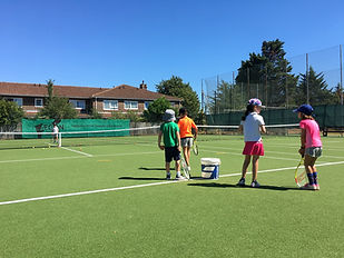 holiday tennis camps barnes