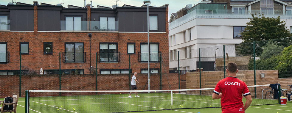 parsons green tennis club lessons