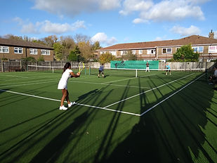 adult tennis lessons