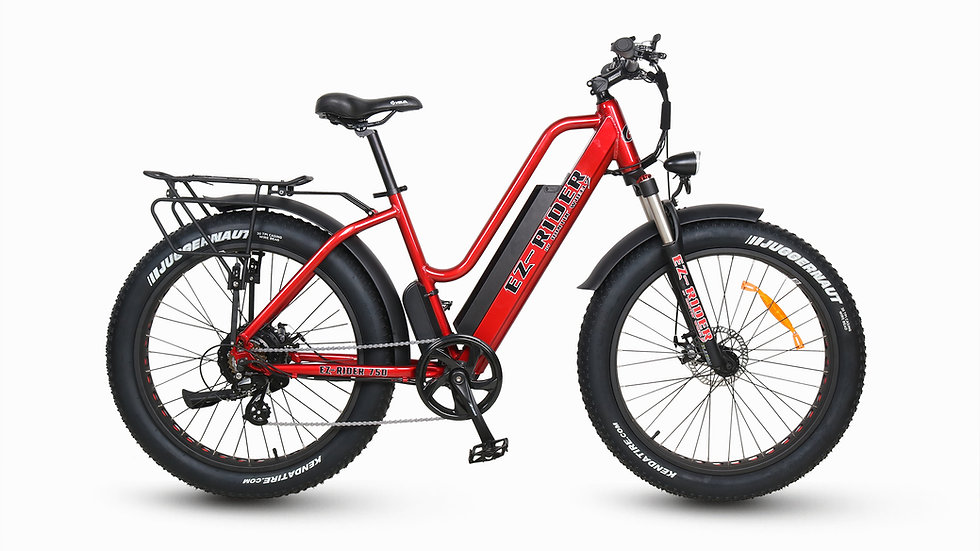 2019 EZ-RIDER 750 Candy Apple Red