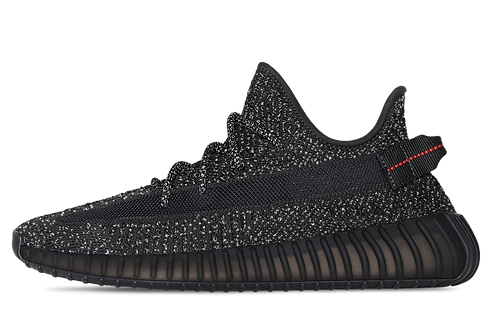Yeezy Boost 350 V2 Static Black Reflective (Limited Edition)
