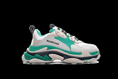 Balenciaga Triple S Trainer White Green