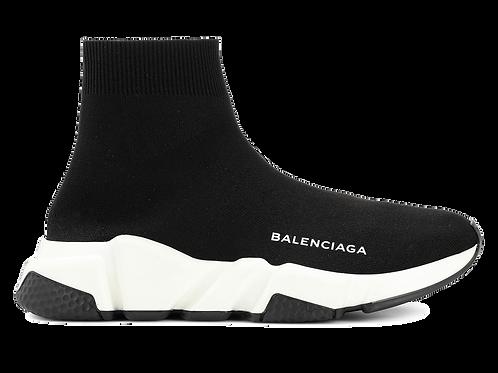 BALENCIAGA SPEED RUNNER MID BLACK/WHITE/BLACK